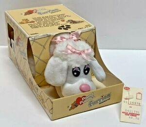 NEW Vintage TONKA Pound Puppies 1986 Furries Newborns Plush 7826 Poodle Pink