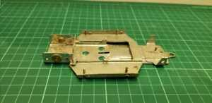 Vintage metal Chassis 1/24 very rare made in argentina! scalextric
