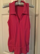AWESOME WOMENS ~ ATHLETA~ HOT PINK WORKOUT CASUAL SLEEVELESS TOP XS MINT COND