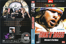 GUNS N' ROSES - Welcome To The Videos (1998) DVD NEW
