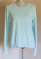 NWT Ann Taylor Loft Lacy Sleeve Sweater Color Green Size L