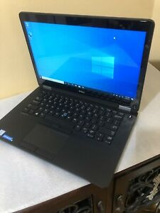 """14"""" Dell Latitude E7470 Ultrabook i5-6300U@2.40 GHZ 8GB RAM 256GB M.2 SSD"""
