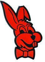 Hase Auto 3D Relief Schild BUNNY Rabbit Emblem 64 mm HR Art. 48133 selbstklebend