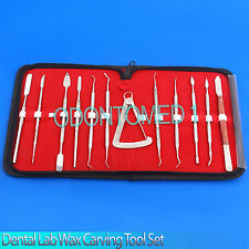 Dental-Lab-Stainless-Steel-Kit-Wax-Carving-Tool-Set Surgical Dental Instruments