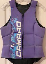 Camaro Impact Vest Pro Women Impact Resistant Reversible Vest purple-black L