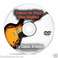 Learn How To Play the Guitar, Electric or Acoustic, Tutorial Lessons DVD E94