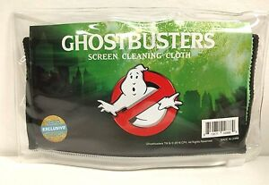 NEW Ghostbusters Screen Cleaning Cloth Nerd Horror Block EXCLUSIVE Tablet Cell