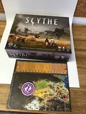 SCYTHE Board Game - STONEMAIER- Barely Used, All Pieces & Expansion Board Nn1
