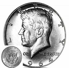More details for 1964 the john f kennedy, special u.s. 90% silver coin half dollar, unc, no vat