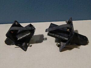 02 03 04 Kia Spectra L & R Rear Bumper Bracket Braces Factory OEM