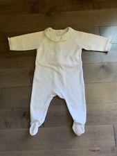 jacadi baby girl Pajamas One Piece Soft 6 Months light pink good preowned