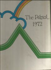 1972 CHEERY CREEK HIGH SCHOOL YEARBOOK ENGLEWOOD CO PATRIOT