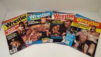 Vintage Wrestling Magazine Lot of 4 Wrestler Annual 1986-87
