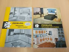 Dovetaile Furniture Peerless Catalogue Broucher Bedroom Kitchens 1970's