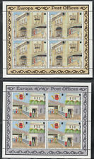 Gibraltar Europa Cept 1990 Post Office Buildings on 2 Miniature Sheet MNH/**