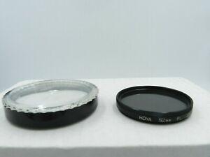 Hoya 52mm PL Lens Filter w/ Acrylic Case Japan
