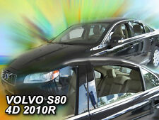 DVO31254 VOLVO S80 4 DOOR SALOON 2006-2015 WIND DEFLECTORS 4pc HEKO TINTED