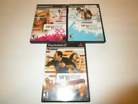 Singstar Amped, 80's  and POP  for Ps2  Very Good Condition Free Shipping
