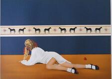 DETRAIT Jacques - Jeune Fille allongée- LITHOGRAPHIE signée et numérotée 250ex
