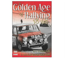THE GOLDEN AGE OF RALLYING 1958 - 1968 DVD Classic Rally Film by Duke - SAVE 30%