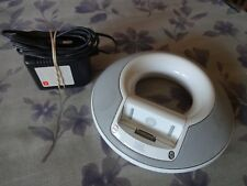 JBL On Stage Speaker Base & Power Supply Very Good Plus Ipod Dock + Audio In