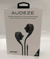 Audeze iSINE10 In-Ear Planar Magnetic Earphones Standard Cable - Black OPEN-BOX#