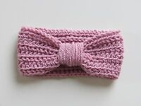 Handmade Crochet Baby Turban Headbands in sizes 0-12 months, made to order