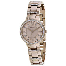 Fossil ES4482 Virginia 30mm Women's Pink Stainless Steel Watch