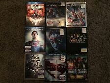 2 BLU-RAY SLIPCOVERS - LENTICULAR OR UNUSUAL (SLIP COVERS ONLY) See List 8/17
