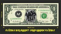 RAMONES IMAN BILLETE 1 DOLLAR BILL MAGNET