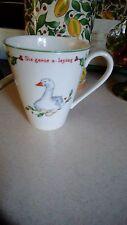 Lenox Holiday 12 Days of Christmas Mug -Six Geese A-Laying