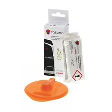 Genuine Bosch Coffee Descaler Tablets & Tassimo Service Disc For T45,T55