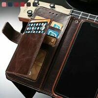 For iPhone 12 Pro Max 11 Xs Xr X 8 7 6 Plus Leather Wallet Case Flip Stand Cover