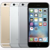 APPLE IPHONE 6~16GB~64GB Unlocked Gold Space gray Silver A1586 4G LTE Smartphone