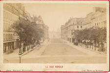 Maison Martinet, France, Paris, La Rue Royale, ca.1880, vintage albumen print Vi