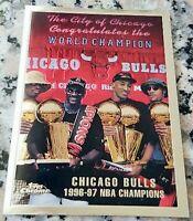 MICHAEL JORDAN 1997 Topps Chrome RARE SP Chicago Bulls World Champions HOF MVP $