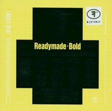 Readymade Bold (2001, feat. David Sylvian)  [CD]