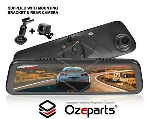 """9.6"""" 1080P Rear View Mirror Dash Reverse Camera For Nissan XTrail T30 T31 T32"""
