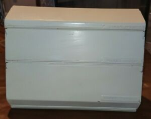 Vintage Lincoln Beautyware Saran Wrap, Waxed Paper, & Paper Towel Dispenser