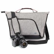 Messenger Camera Bag w/ Customizable Dividers and Weather Resistant Bottom NEW