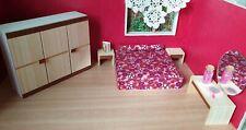 Bodo Hennig Schlafzimmer Möbel Puppenstube franz. Bett Schrank Nachttische Deko