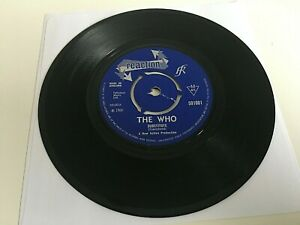 """The Who - Substitute / Instant Party - 7"""" Vinyl Single - Reaction 591001"""