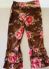 My Vintage Baby boutique ruffle pants size 4t SUMMER SALE adjustable waist