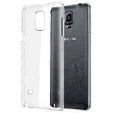 Funda Dura Crystal Case para Samsung Galaxy Note 4 N910, Carcasa Transparente