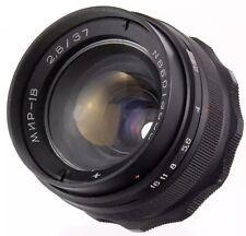 MIR-1B 1V 1 37mm USSR flektogon 35mm f2.8 lens M42 Pentax Canon dSLR camera