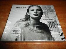 TAYLOR SWIFT Reputation CD ALBUM PRECINTADO CON SOBRECUBIERTA ED SHEERAN