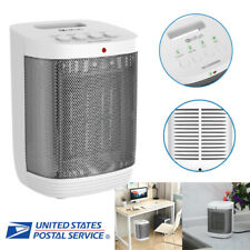 Portable Electric Fan Heater Air Warmer Desk Heating Machine for Home Office US