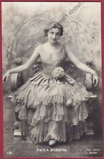 PAOLA BORBONI 04a ATTRICE ACTRESS ACTRICE CINEMA TEATRO MOVIE - PARMA real photo