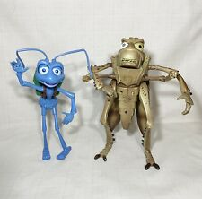 DISNEY PIXAR A BUG'S LIFE FLIK AND HOPPER INTERACTIVE TALKING FIGURES 1998