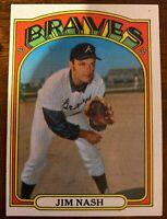 1972 Topps #401 Jim Nash Atlanta Braves